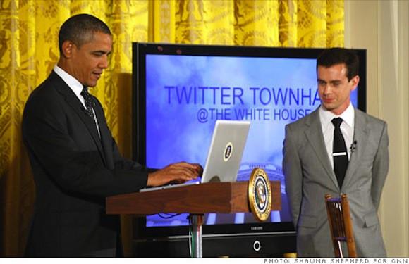 obama-twittering