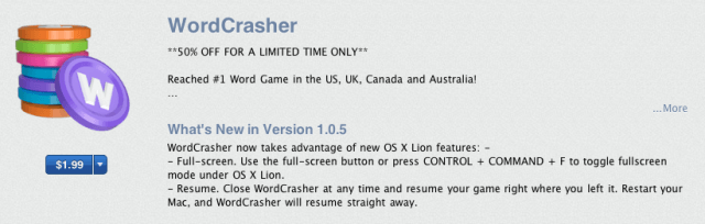 os x lion apps are already in the mac app store cult of mac