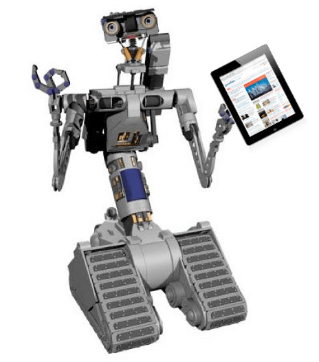 Johnny-5-iPad