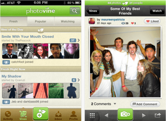 Google's Photovine Photo Sharing App Now Open To All | Cult of Mac