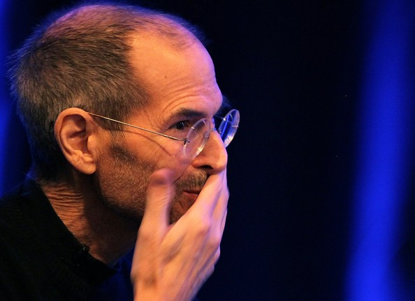 Steve Jobs taken aback