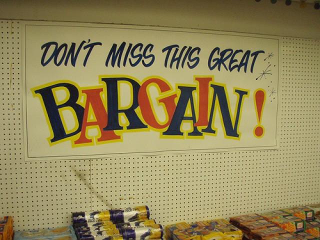 bargain-sign