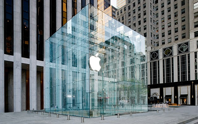 Steve Jobs originally wanted the Fifth Avenue Store to be even bigger.