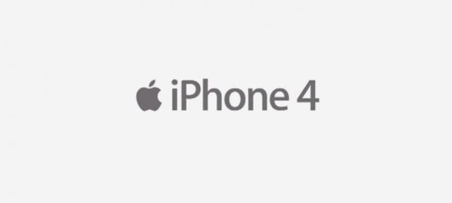 iPhone 4 Ad Title