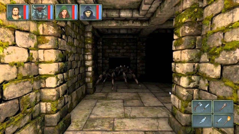 legend of grimrock for the ipad is a first person dungeon