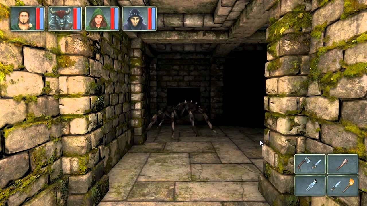 Legend of Grimrock for the iPad Is A First-Person Dungeon