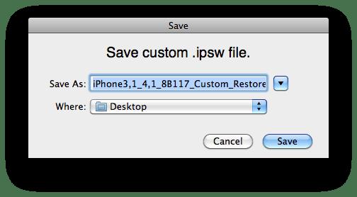 download ipsw from apple server