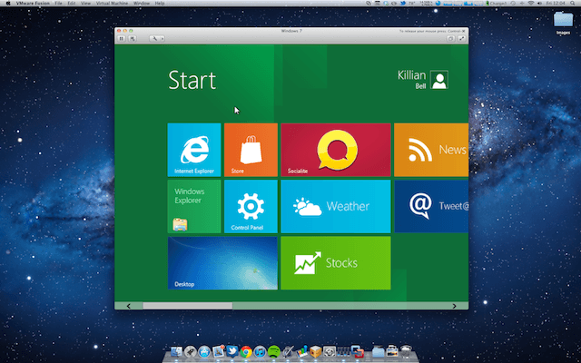 mac osx virtual windows 7