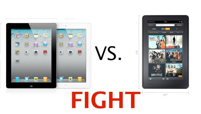 Amazon Kindle Fire vs. iPad 2 — An In-Depth Comparison | Cult of Mac