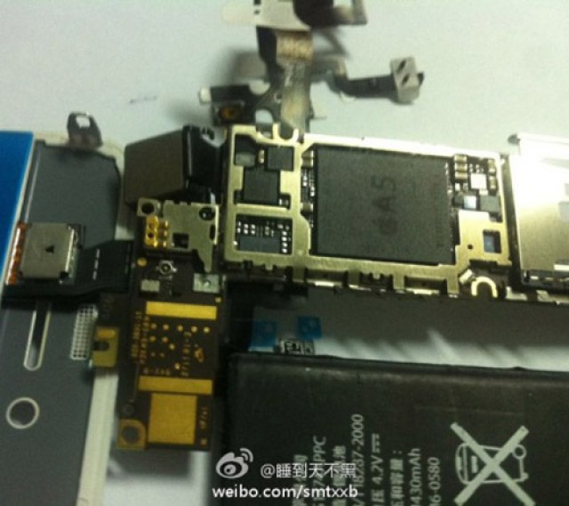 Iphone-5-logic-board-A5-processor