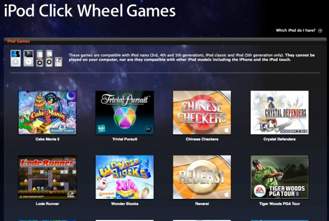 So Long Song Summoners Apple S Killed Off Ipod Clickwheel Games Cult Of Mac