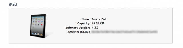 How to Find Your UDID [iOS Tips]   Cult of Mac