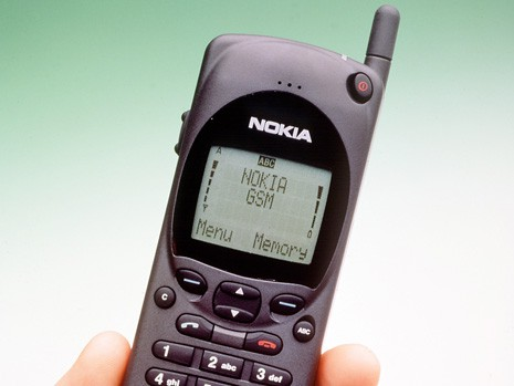 Nokia 2110, about as 1994 as it gets