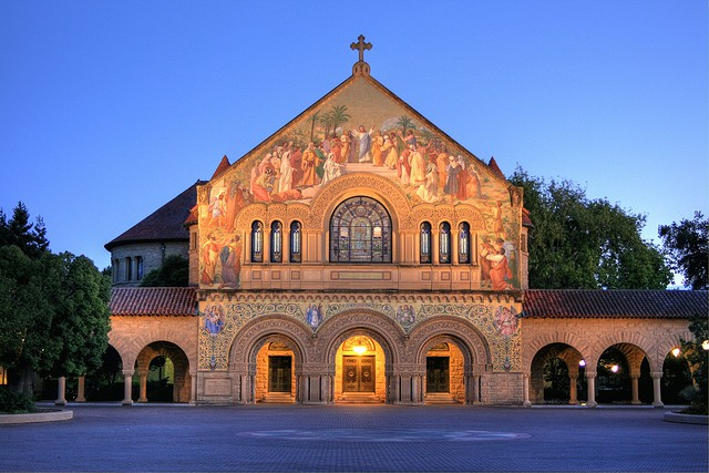 Stanford Memorial Church courtesy of Jill Clardy on Flickr