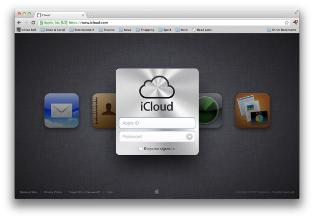 Apple's iCloud Website Loses 'Beta' Tag Ahead of Launch, Gets New