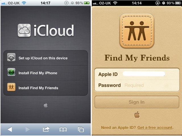 find my friends not working on iphone