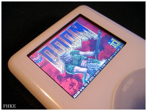 Doom runs on iPod. Photo: FHKE/Flickr