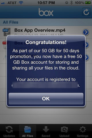 box cloud storage free