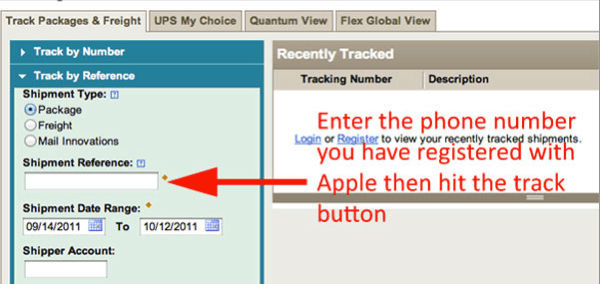Track Your iPhone 4S' Shipping Progress in Realtime With
