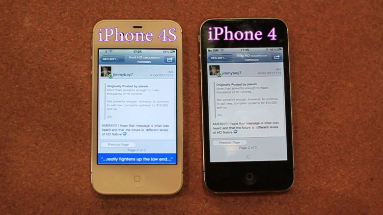 iPhone 4 vs  iPhone 4S Speed Test: FIGHT! [Video] | Cult of Mac