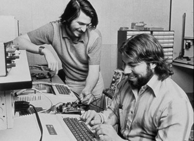 Woz and Jobs in their early days at Apple.