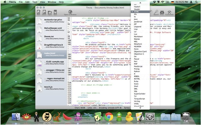 Tincta for OS X