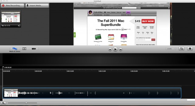 Camtasia: Screencasting on the Mac with Style [Review] | Cult of Mac