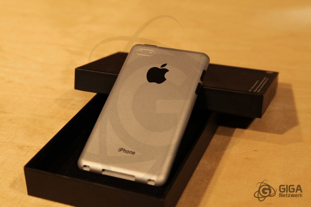 An iPhone 5 conceptual prototype by benm.at
