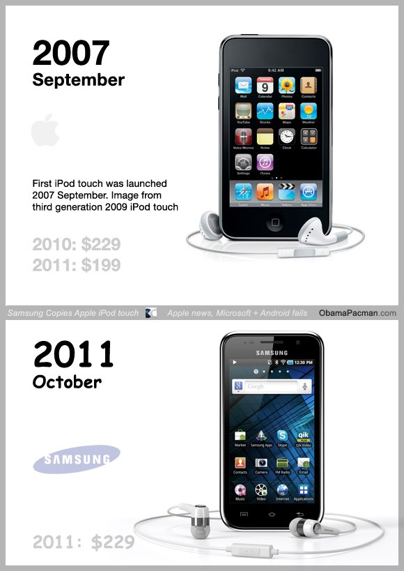 Samsung-copied-Apple-iPod-touch