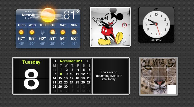 Add The Ipod Nano S Mickey Mouse Clock To Your Os X