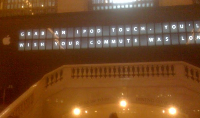 The Apple Ticker at Grand Central/9to5Mac.com