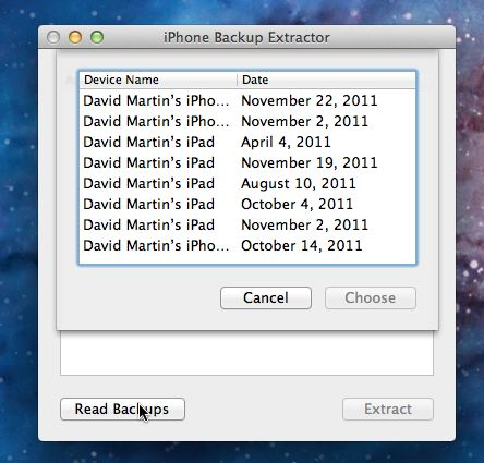 Use iPhone Backup Extractor To Recover Lost Data [iOS Tips