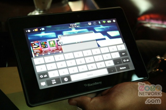 Blackberry PlayBook (Photo by clintonjeff - http://flic.kr/p/9HDmuJ)