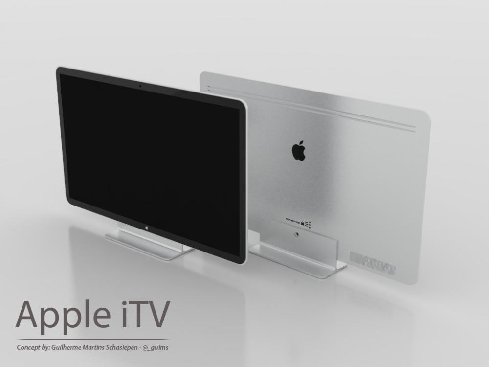 Apple iTV iMac hybrid concept