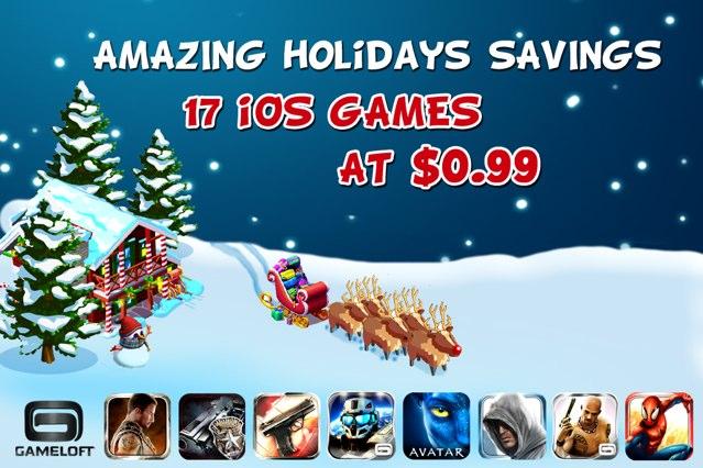 Gameloft-Xmas-sale
