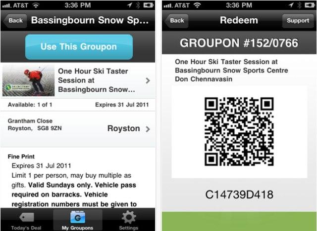 Groupon-iPhone