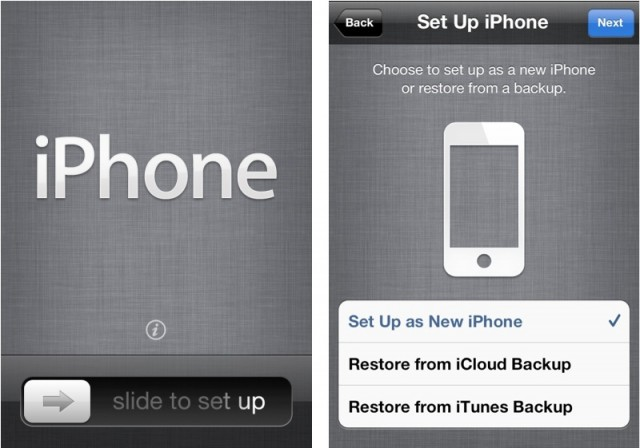 setup as new iphone or restore get started with your new iphone the right way setup 19460
