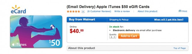 Get A $50 iTunes Gift Card For Just $40 In Time For