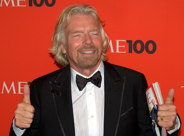 Branson in 2010 at a NYC event. (Photo by david_shankbone - http://flic.kr/p/7ZWvcn)