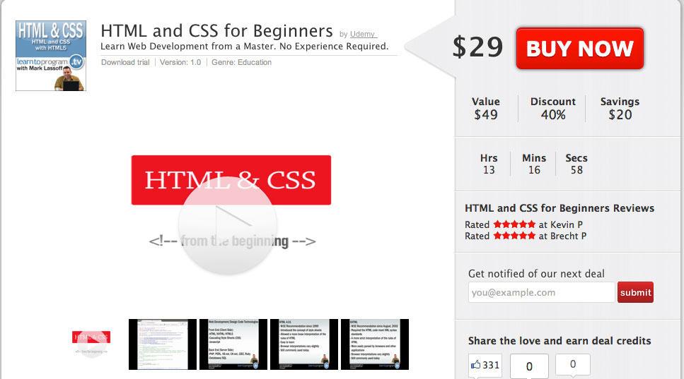 html-css-deal