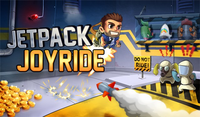 If you haven't yet played Jetpack Joyride, there's no better time to start.