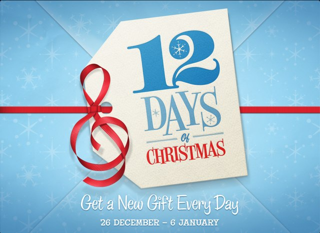 Apple launches itunes 12 days of christmas promotion for for 12 days of christmas salon specials