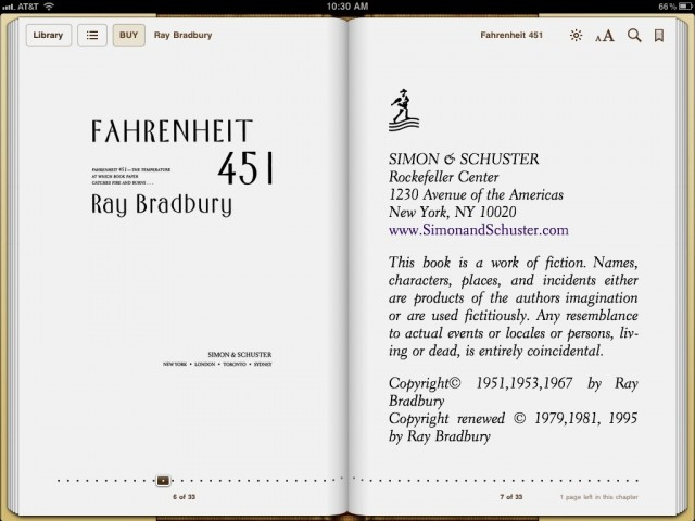 fahrenheit 451 finally comes to ibooks in a format that