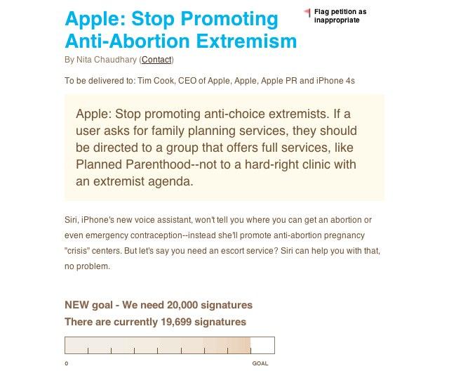 Siri-abortion-petition