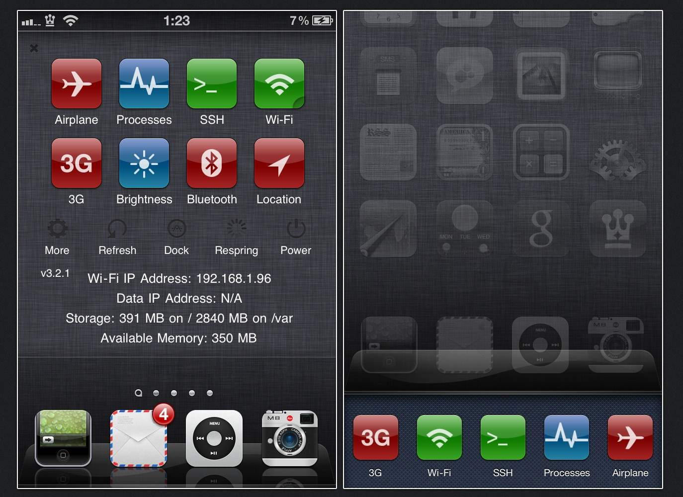 10 Best WinterBoard Themes for Jailbroken iPhone [Cydia] 2012