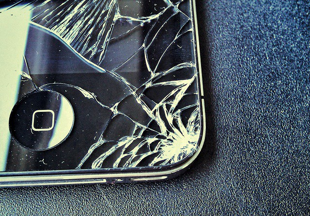 shatterediPhone