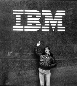 A lot has changed since Steve Jobs flipped off IBM 30 years ago.