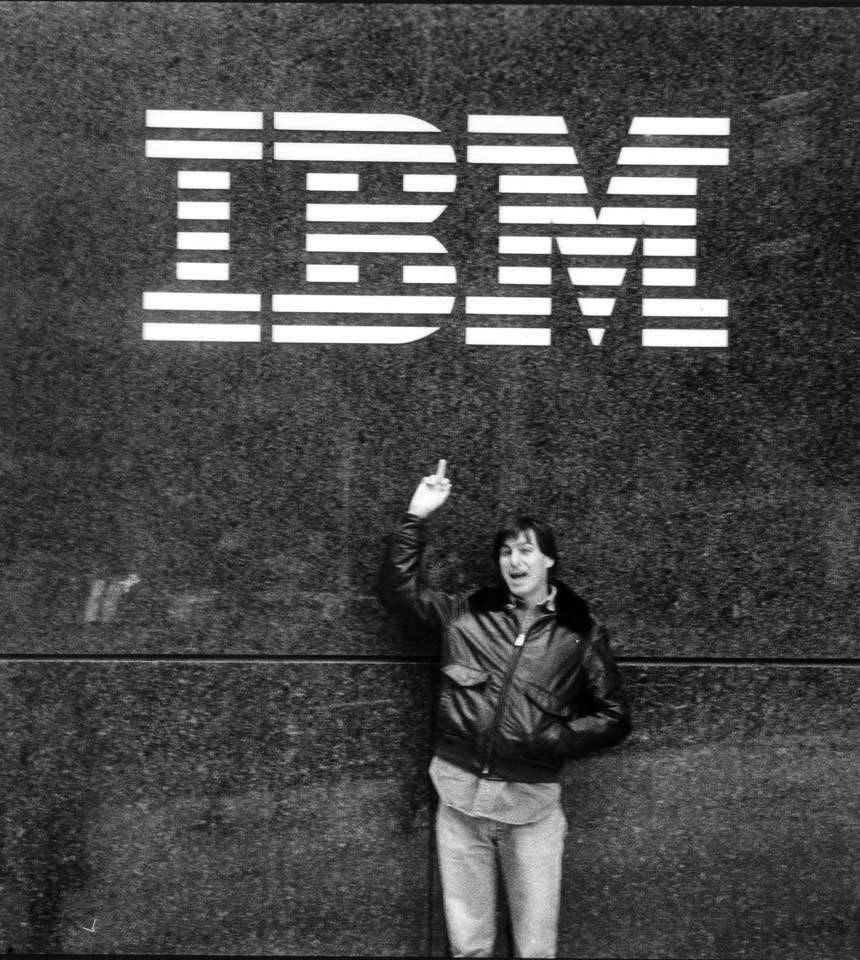 Steve Jobs and IBM