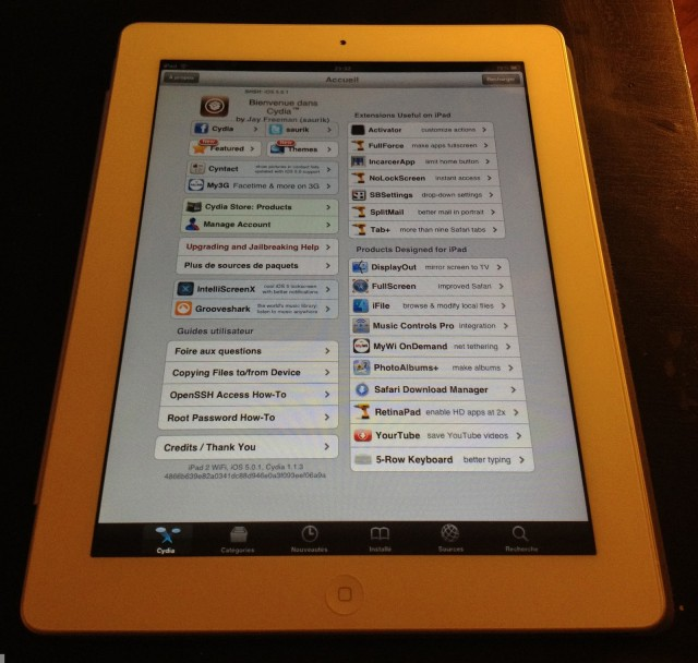 iPad 2 iOS 5.0.1 untethered jailbreak teaser