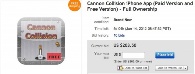 Cannon-Collision-on-eBay